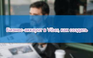 Как настроить Viber для бизнеса — пошаговая инструкция