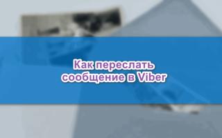 Как переслать полученное сообщение в Viber — руководство