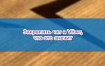Как закрепить чат в Viber, что это значит — инструкция