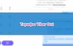 Какие Viber Out тарифы существуют, как их активировать