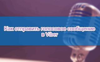 Как в Viber записать и отправить голосовое сообщение — руководство