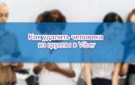 Как убрать участника из группы в Viber — руководство