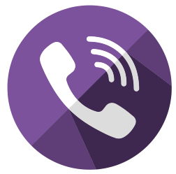 Лого Вайбера на телефон